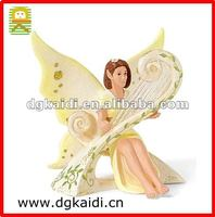 Beauty harp elf action figure for decoration