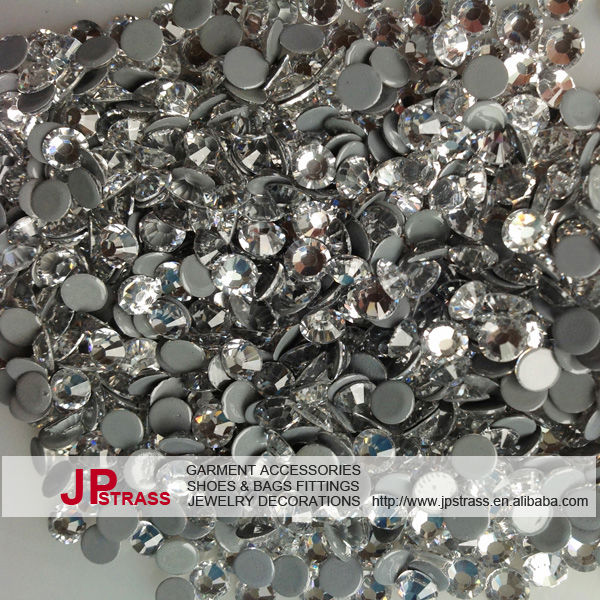 Austria rhinestone hot fix crystal stones for clothing in full sizes and multiple color