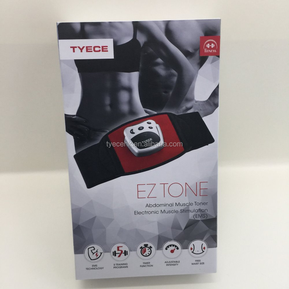 EZ TONE for muscle training and stimulation using electric impulse