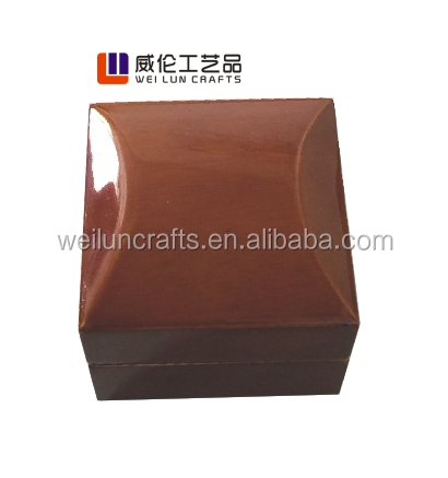 fancy wood packing box for jewelry ring box