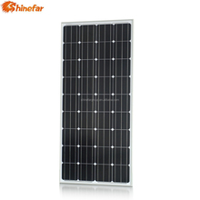 Shinefar 9.1A Short circuit current with best selling 150W solar panel for 2kw solar panel system