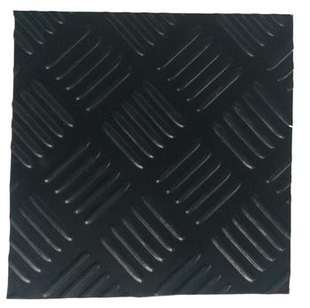 Anti-slip SBR material  Rubber flooring checker rubber floor