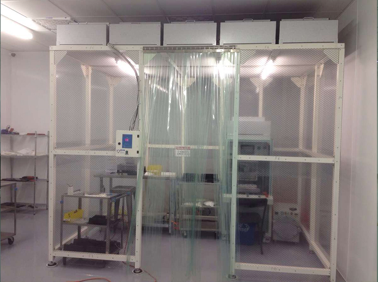 OEM Clean Class 100 Modular Clean room, ISO 5 Dust Free Cleanroom with HEPA Fan Unit