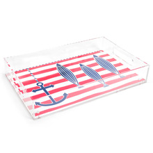 Non-shattering Lucite Acrylic Serving Tray/Serving Dishes