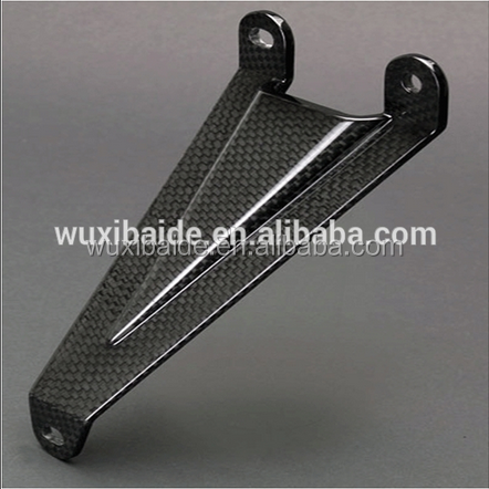 OEM cut carbon fiber products cnc machined UAV drones carbon fiber parts precision machining carbon fiber products