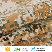 10 years experience china manufacturer cloud printed polyester camouflage textile fabric