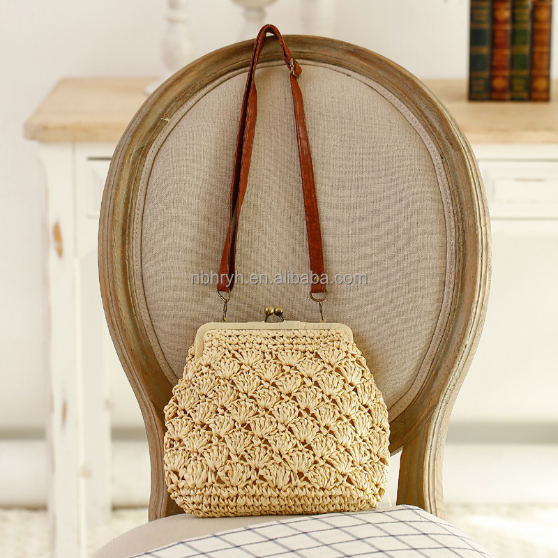 SB-17 new handmade rattan women's woven knitted bag vintage trunk messenger bags small crossbody bags for women handbag