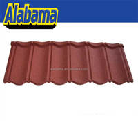 Galvanized Decorative Weather Gray Classic Sheet Bamboo Shape Anti-fade Manufacturer Best Sell Roof Roof Tile