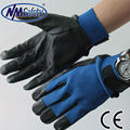 NMSAFETY leather safety hand gloves/motorcycle gloves leather