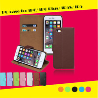 2015 Fashion Design Phone Case 6/6s PU leather flip Case For iphone6 case