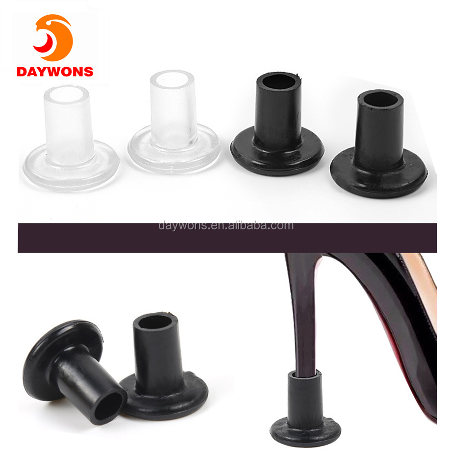 Daywons High Heel Protectors Anti-Slip & Wear-Resisting Set Stoppers Female Style Modern Latin Dance Shoes Soft Soles Shoe Nails