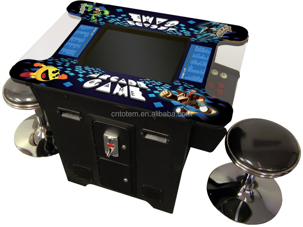 Cocktail Arcade Table Game Machine