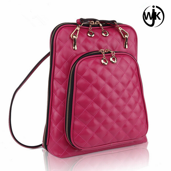2017 Famous brand backpack women backpacks solid vintage girls school bags for girls black PU leather women backpack