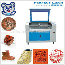 Wood / Acrylic / PVC / Plexiglass / Architectural Models / Rubber / Plates / Craft / Plastic CO2 laser stencil cutting machine