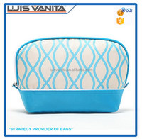 Blue Makeup Bag ,Polyester Toiletry Bag/Fashion Small Wallet
