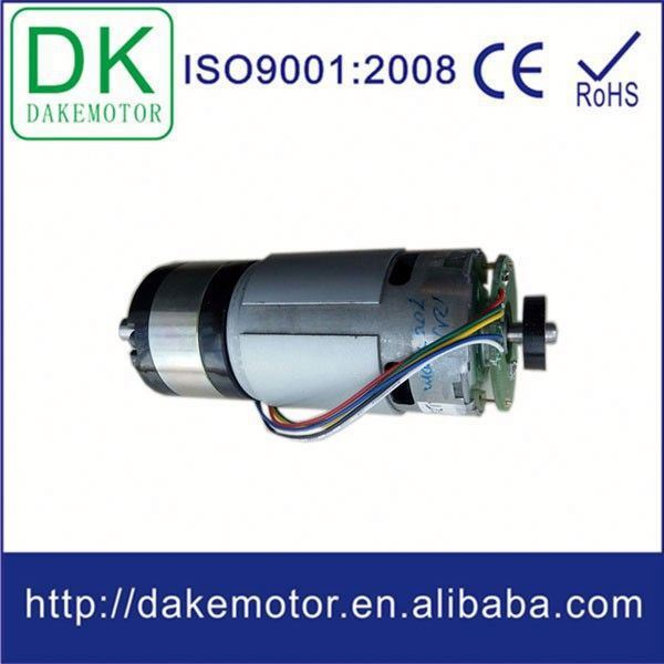 42mm 36mm 25mm 12mm cc motor with encoder