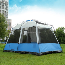 Family Camping Luxury Large Tents Multiplayer Outdoor Aluminum Pole Folding Waterproof Big Tent