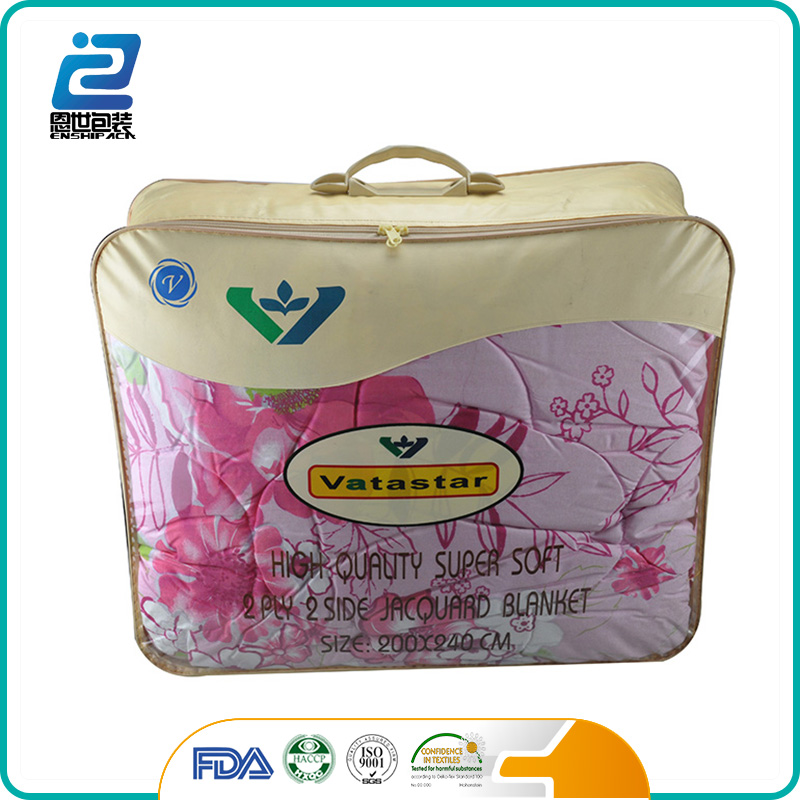 New arrival custom picnic pvc blanket bag with mat