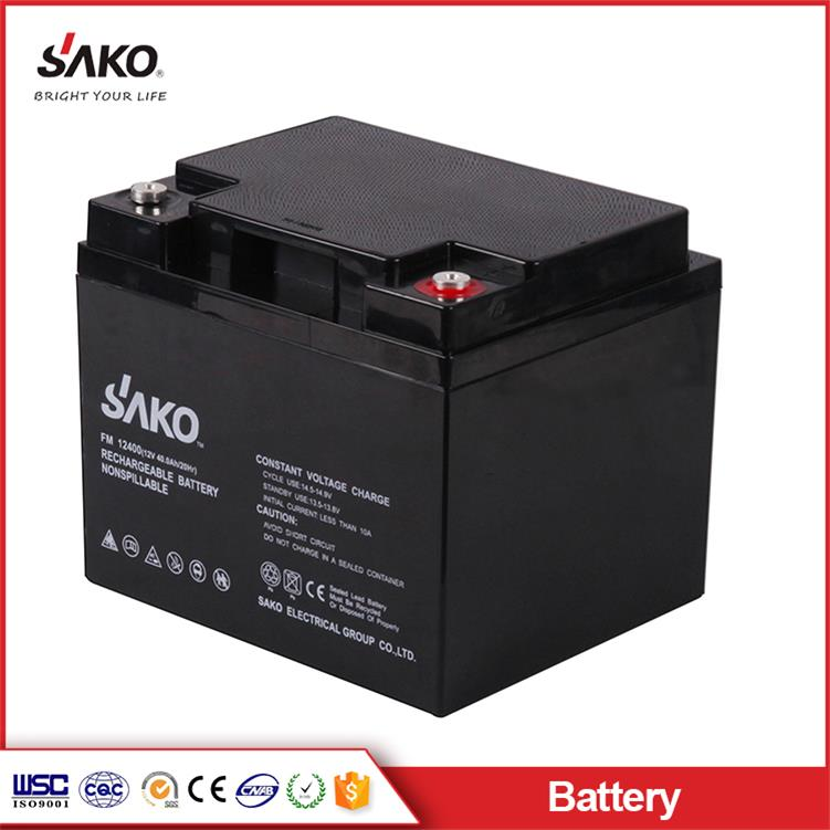 12V40Ah AGM Battery