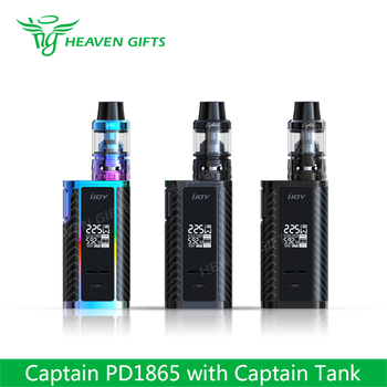 Good Performance 4ml Captain Atomizer 225W IJOY PD 1865 e cig box mod kits