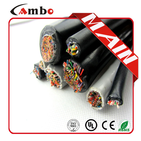 High performance Jelly Compound Oil Filled 10 Pair Cat5 Telephone Cable