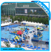 Moblie frame swimming pool water park