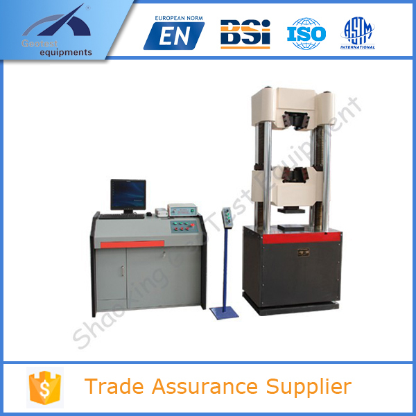 UTM-1000E Computerized Electro-hydraulic Servo Used Universal Testing Machine 1000kg used tensile testing machine