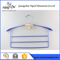 Elegant furniture accessories Blue Wire Hanger