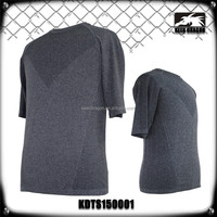 Mens Sports Shirt Custom Design Dark Gray Seamless T Shirt