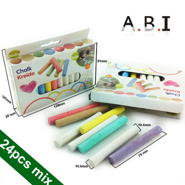 Goverment bid school Color Dustless Chalk For School