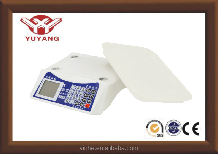 ABS plastic housing 30kg china electronic weighing scale parts