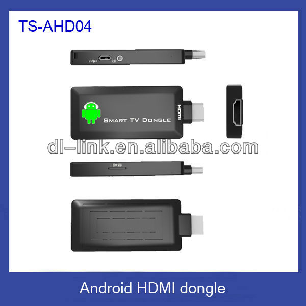 Factory direct supply! TS-AHD04 android stick wifi,mini android 4.0 google tv box, TV box
