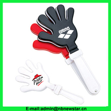 NCL003 Superior quality plastic custom hand clapper for promotion use