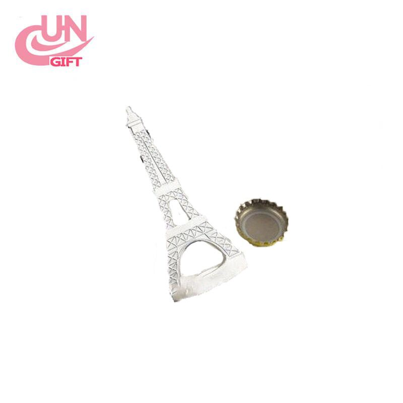 2017 New wholesale Creative France Eiffel Tower Metal Bottle Openers