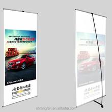 Custom Light weight L stand banner and x banner 80*180cm