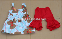 Hot Selling Costums Kids Clothes Boutique Outfit Remake Clothing Set