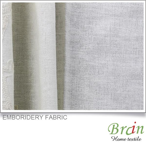 elegant luxurious classical Emboridery blackout fabric curtain
