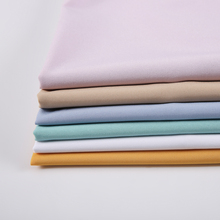 Lowest price simple style plain dyed soft <strong>polyester</strong> reinforced 4 way stretch spandex fabric