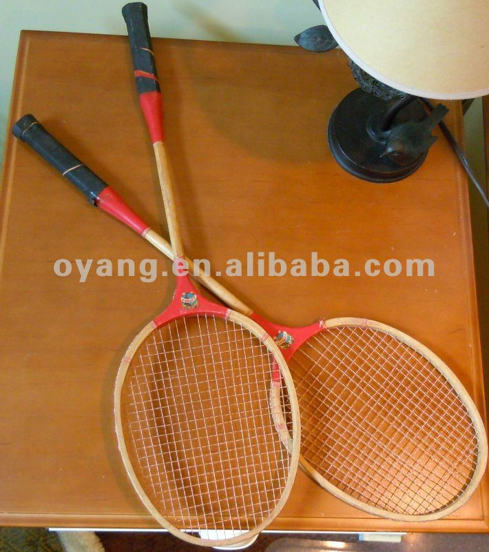 Wooden Badminton Racket
