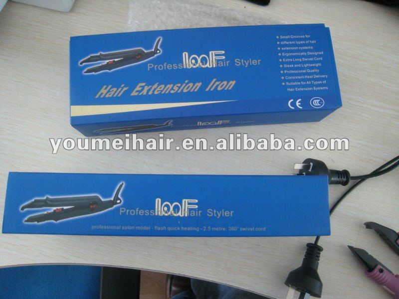 Low Price Loof Hair Extension Iron Tools View Hair Extension