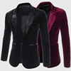 Wholesale Business Style Softer Velvet Slim