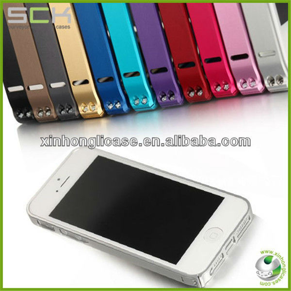 Mobile phone accessories, For iPhone 5 metal bumper, For iPhone 5'' Case