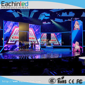 LED Rental Module Visual 6mm HD Indoor LED Display Can Be Hanging,Stacking,Curve Install