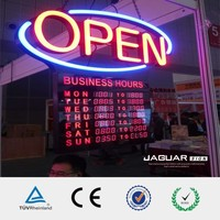 Manufacturer full color outdoor led open sign neon sign with china supplier