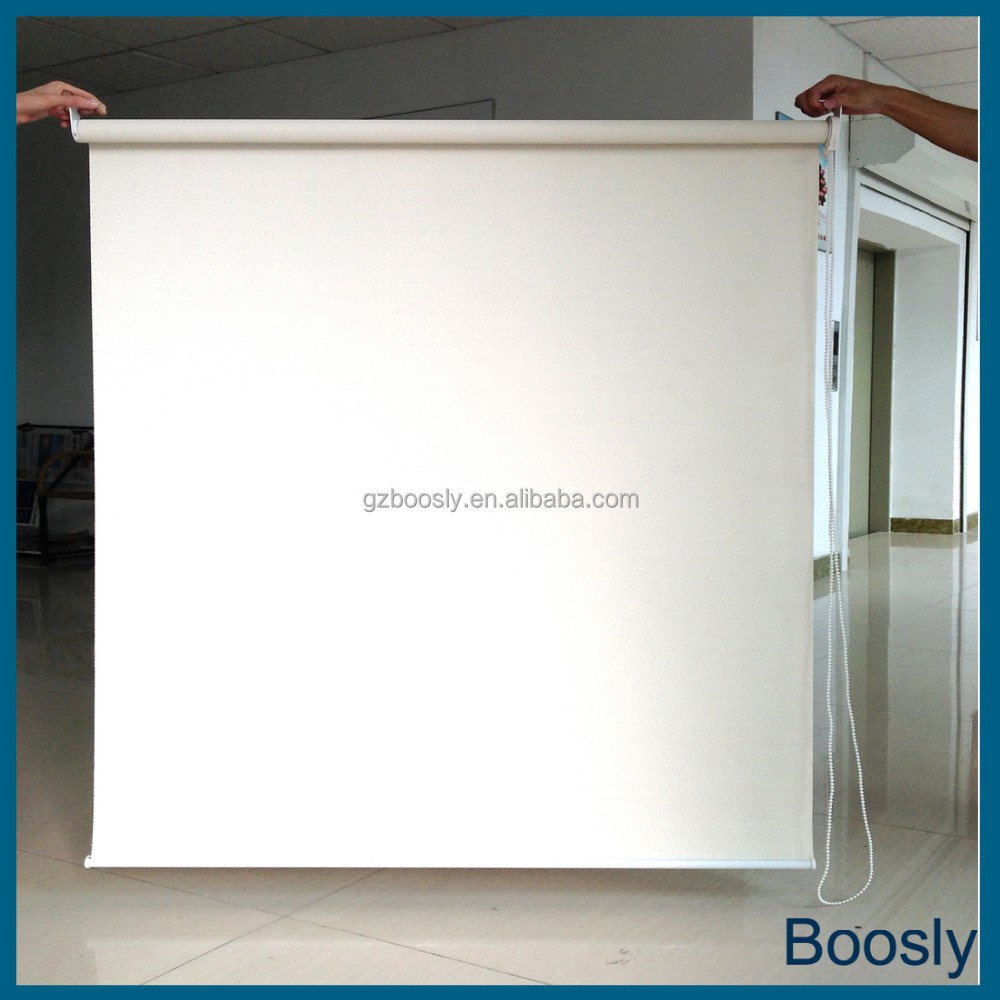 Eco-friendly Green chain roller blind aluminum roller windows