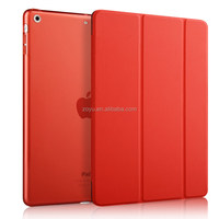 Customized Protective Back PU Leather Tablet Cover For Apple iPad air