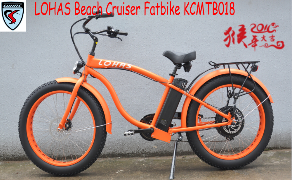 electric bicycle 500w ebike electric bike beach cruiser from alibaba usa (KCMTB018)
