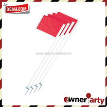 Wholesale Customized Soccer Corner Flags with ABS Pole and Spring Stick Spike Soccer Corner Flags