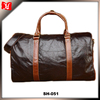 2014 fashinable high quality men 100% genuine leather travel bag