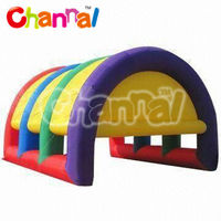 outdoor party event colorful tent inflatable with blower